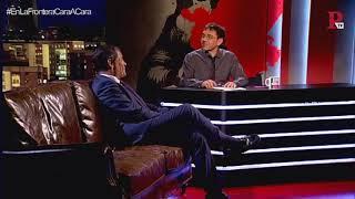 #EnLaFrontera55 - Monedero y Rafael Correa: el cara a cara