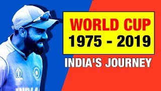 India Cricket Team Journey in World Cup   History   Live Hindi 2019   CWC   India vs England