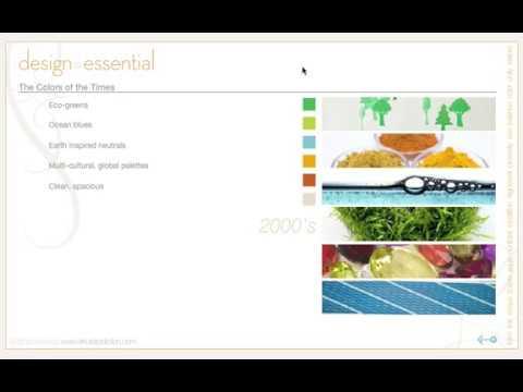 17  Design Principles -  Color through the decades