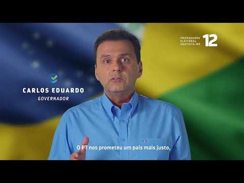 CARLOS EDUARDO ANUNCIA APOIO A BOLSONARO