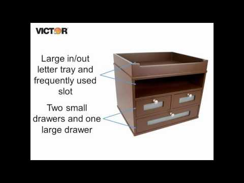 Victor B5500 - Mocha Brown Tidy Tower