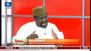 We Must Continue To Negotiate To Consolidate Nigeria's Unity-- Okunniyi Pt.1 |Sunrise Daily|