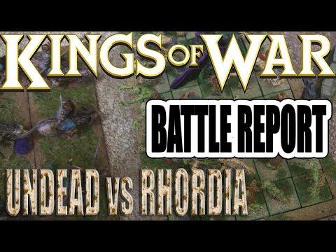 KoW Summer Campaign Battle Report - Undead vs Rhordia (TRIPLE ZOMBIE LEGION)