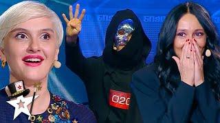Magician Uses His Psychic Powers on the Judges!! Georgia's Got Talent 2020 | Magicians Got Talent