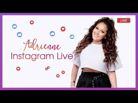 Adrienne Talks Summer Plans and Hair Care Tips on Instagram Live!