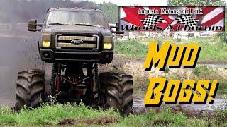 TRUCK MUD BOGS - Canadian redneck style!!