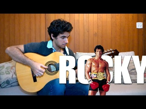 Going the Distance (Rocky II Theme Song) - Fingerstyle Guitar (Marcos Kaiser) #40