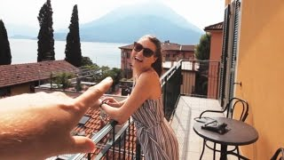 One of Saunders Says's most viewed videos: WE WERE SO LUCKY | Lake Como #1 - Italy | Saunders Says | Travel Vlog