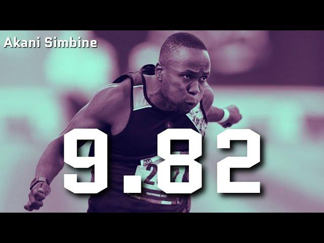Akani Simbine clocks sensational 9.82 seconds!!!