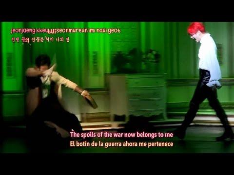 140722 Musical Dracula - Junsu - It's Over (Sub Español + English + Karaoke)