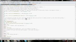 Notepad++ and ONScripter-EN