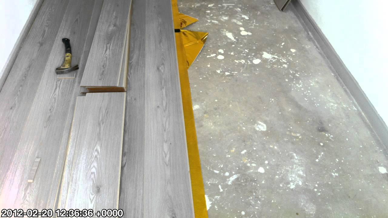 Laminaat Leggen Slaapkamer : Burghout laminaat leggen slaapkamer youtube