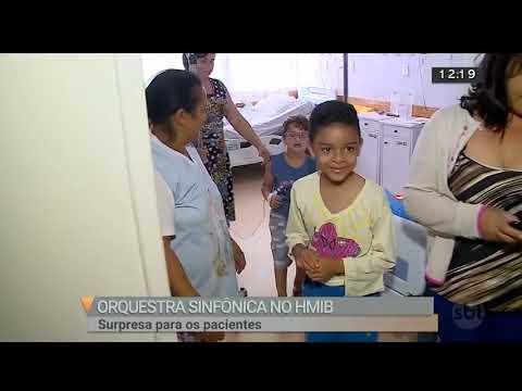 Orquestra sinfônica faz surpresa para pacientes do HMIB | SBT Brasília 02/08/2018