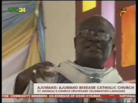 Ajumako Bisease Catholic Church Launches Centenary Celebration