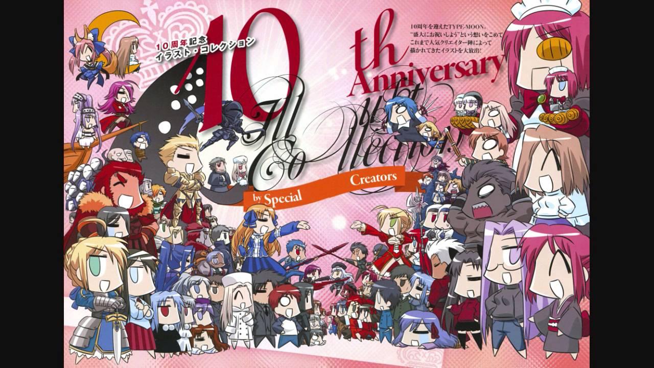 Type Moon 10th Anniversary Drama Cd Feat Carnival