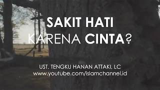 Video HANAN ATTAKI - PERNAH SAKIT HATI KARENA CINTA? download MP3, 3GP, MP4, WEBM, AVI, FLV November 2018