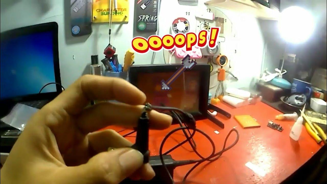 Cara Memperbaiki Charger Laptop Putus Diujung Kabel Part 2 Youtube