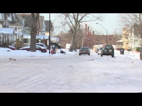 East Cleveland snow problems