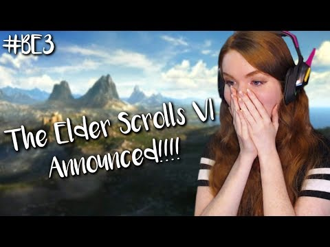 THE ELDER SCROLLS VI REACTION!!! Bethesda's E3 2018 | #BE3