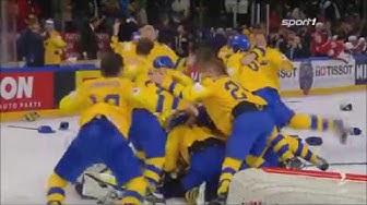 Eishockey WM 2018 - Schweden vs. Schweiz 3:2 / Finale Highlights Sport1