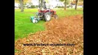 Pulsaire souffleur feuilles micro tracteur tdo