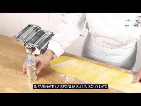 Two sheets ravioli dies - Moules à ravioli à 2 feuilles de pâtes - Stampi ravioli doppia sfoglia from YouTube · Duration:  33 seconds