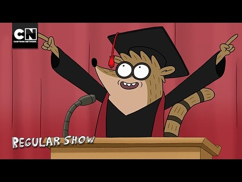 Graduation Speech | Regular Show | Cartoon Network