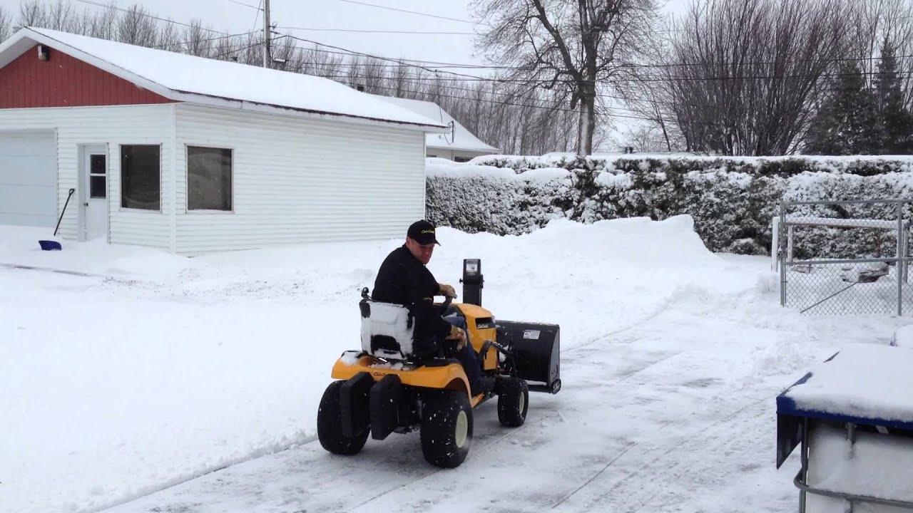 Tractor Cub Cadet Enduro XT1 with snowblower 42` 3X by GARAGE R MCMAHON  GARAGE R MC MAHON