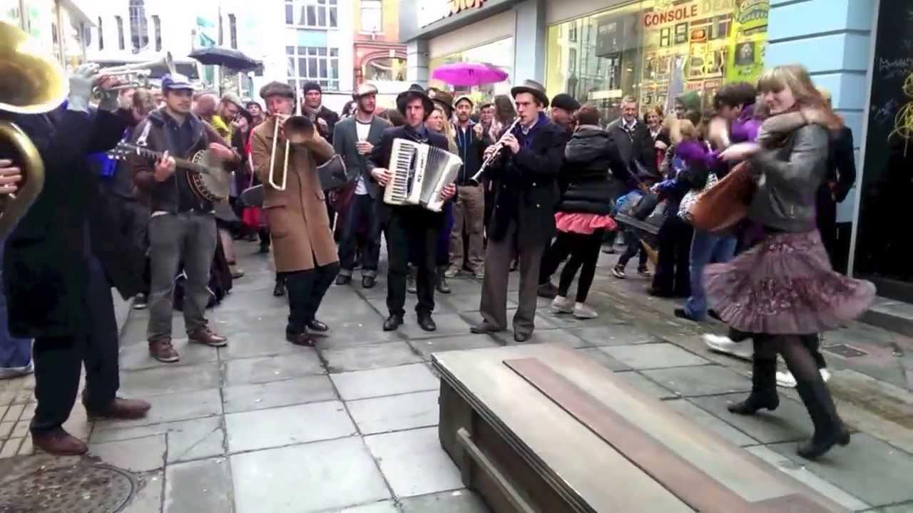 Cork Jazz Dance Exchange 2013 Jazz Funeral