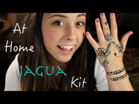 HOW TO  AT HOME HENNA KIT