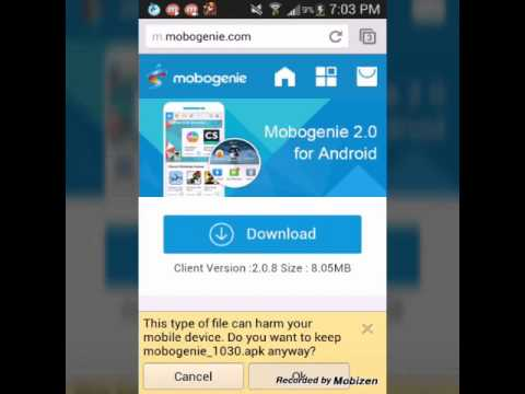 How To Get Mobogenie Full Apk For Free