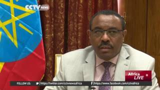 CCTV : Ethiopia's Prime Minister Hailemariam Desalegn on Gambia and Election of AU Commission Chair