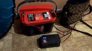 Зарядка гелевого аккумулятора OPTIMA AGM  после мороза