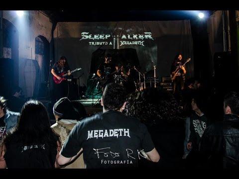 MEGADETH Tribute Band - SLEEPWALKER Tributo a Megadeth - (MEGADETH COVER)