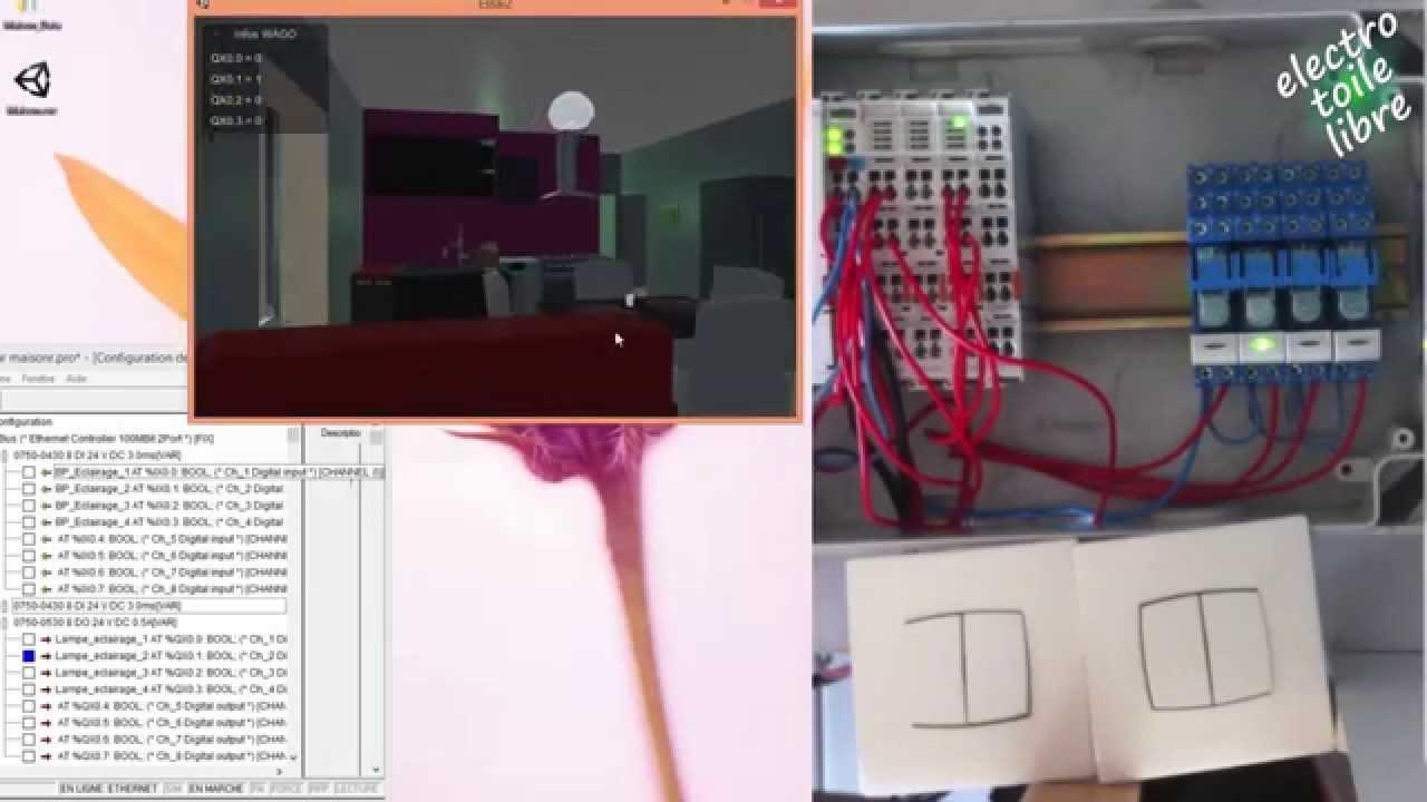 Environnement virtuel 3d interactif youtube for Simulateur maison 3d