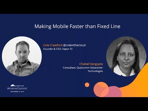 Making Mobile Faster than Fixed Line
