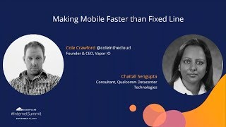 Making Mobile Faster than Fixed Line thumbnail