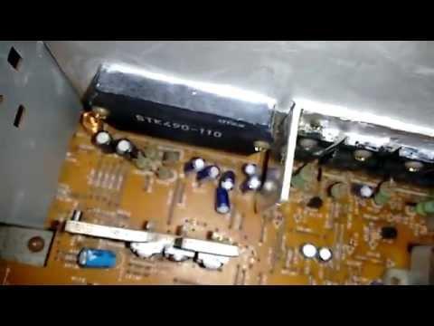 Aiwa Nsx- T99- Desmontado. Placa do CD Ruim