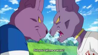 BEERUS VS CHAMPA FULL FIGHT DRAGON BALL SUPER EPISODE 70 ENG SUBBED