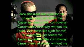 Without Me by Eminem Lyrics (Explicit)