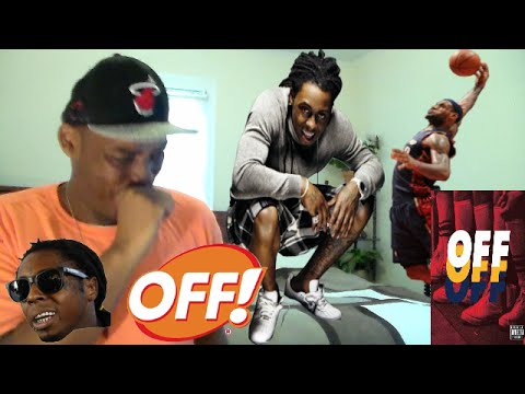 Lil Wayne OFF OFF OFF Track ( SONG FOR LEBRON AND THE CAVS) REACTION/REVIEW!!!