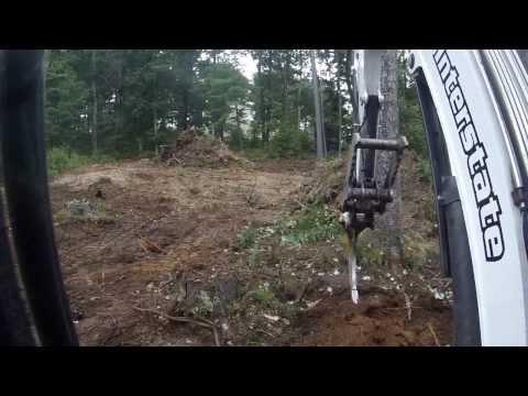 Mini Excavator With Ripper Attachment