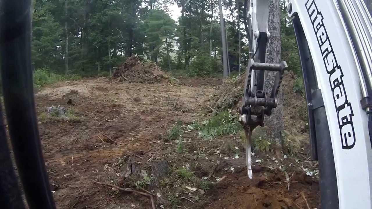 Mini Excavator With Ripper Attachment Youtube