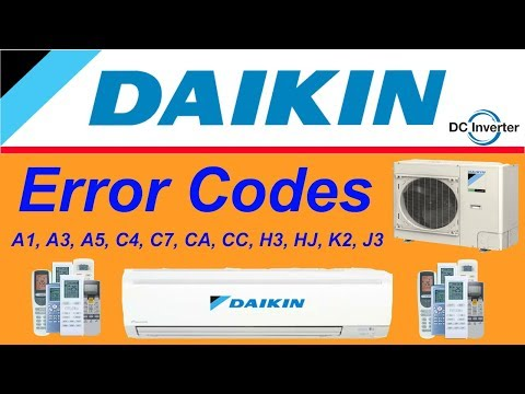 Daikin Air Conditioner All Error Codes And Solution Troubleshooting Urdu/Hindi