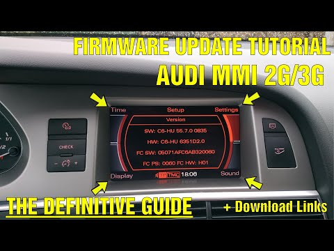 The Definitive Audi MMI 2G And MMI 3G Firmware Update Tutorial (Featuring The Cheapest S6 4F In EU)
