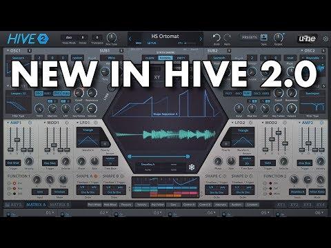 Hive 2: Sleek, streamlined, supercharged | u-he