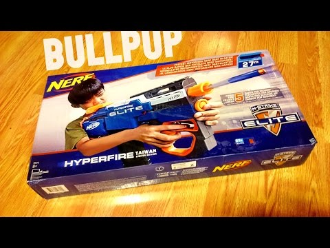 nerf hyperfire taiwan special edition nerf bullpup mod by duoen