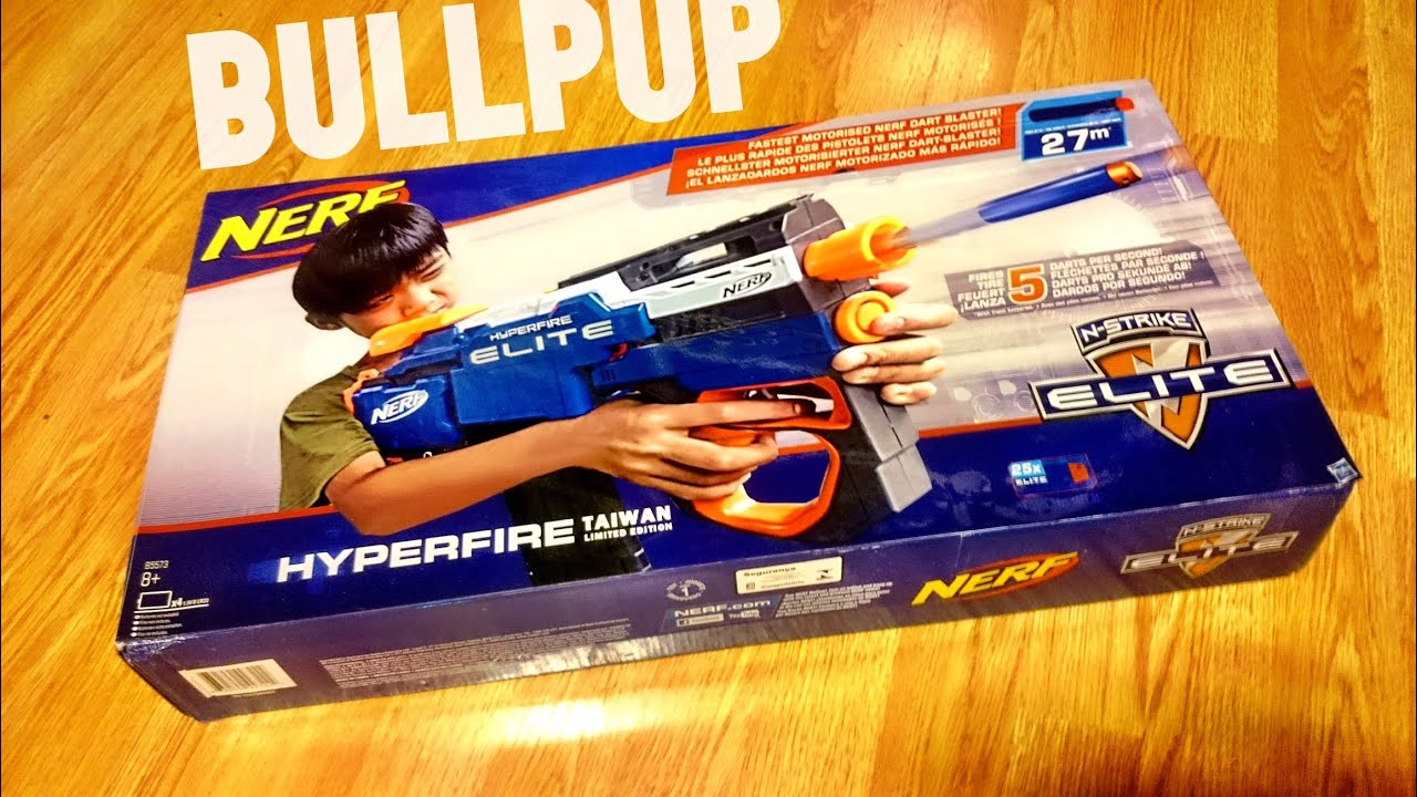 Nerf Hyperfire TAIWAN Special Edition