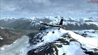 [FSX HD] From Canada to Alaska with the Quest Kodiak
