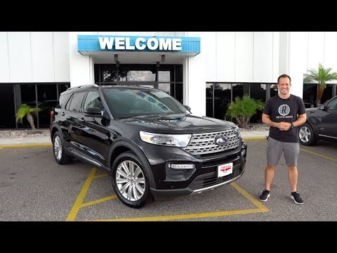 Is the 2020 Ford Explorer Limited the BEST choice for a 3-row SUV?